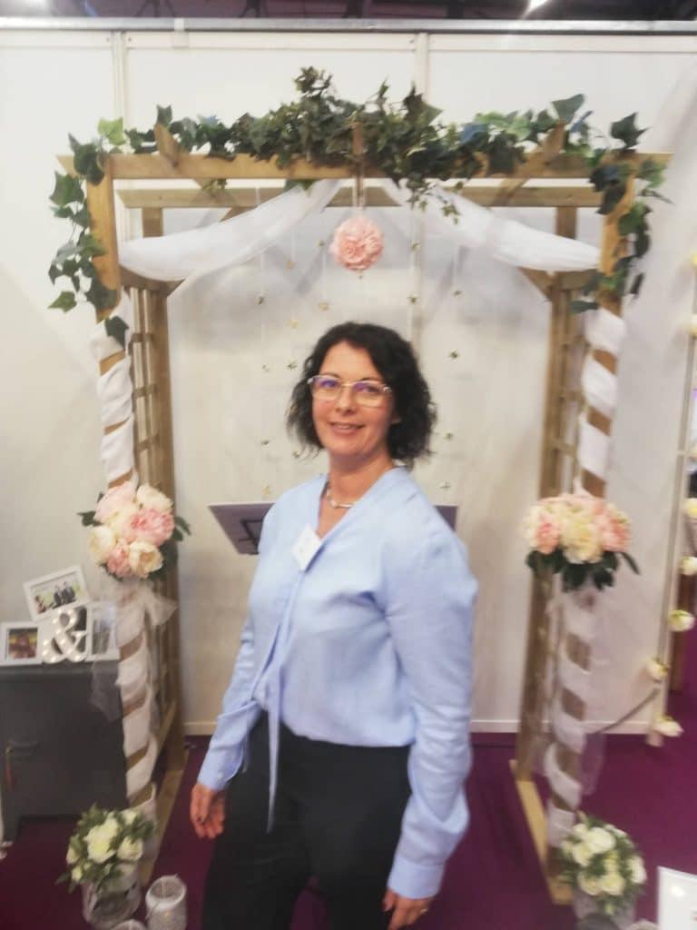 Estelle Stand Unique Ceremonies Salon Mariage Poitiers 2018